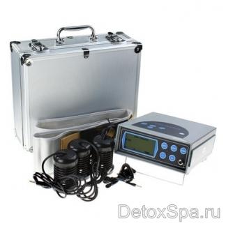 Аппарат Ion Cleanse A 01 полностью выводит из организма вредные вещества: токсины, химикаты, соли металлов, аллергены. Прибор можно использовать дома как в лечебных, так и в профилактических целях.